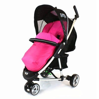 £19.95 • Buy New Pink Padded Footmuff & Liner To Fit Quinny Zapp Petite Star Zia Obaby Zoma