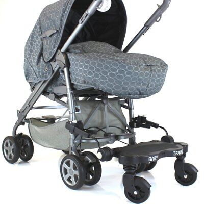£29.95 • Buy Black Childs Ride On Buggy Stroller Board To Fit Stroller Pushchairs & Prams
