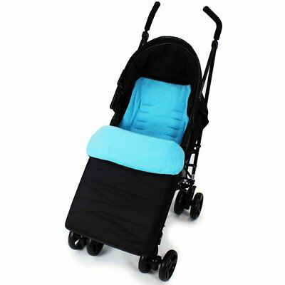 Footmuff Buddy Jet For Britax B-Agile Double Stroller (Chili Pepper) • 9.95£