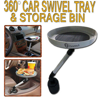 $10.90 • Buy Zone Tech Car Swivel Mount Holder Travel Cup Coffee Table Stand Food Tray