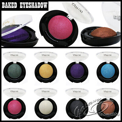 £3.50 • Buy Saffron BAKED Eyeshadows Soft Shimmer Highly Pigmented Eye Colour