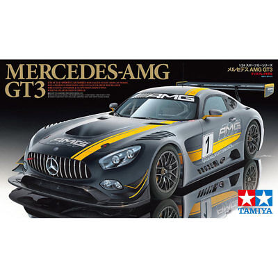 TAMIYA 24345 Mercedes AMG GT3 1:24 Car Model Kit • 41.95£