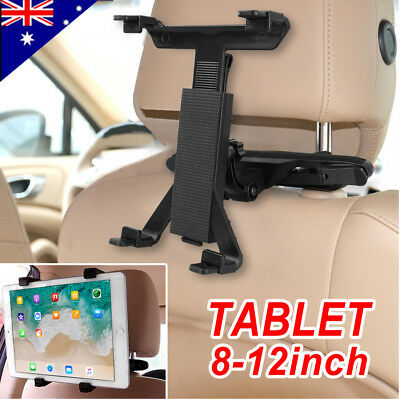 AU16.79 • Buy Universal Car Mount Seat Headrest Holder For IPad Samsung Android Tablet 8-12