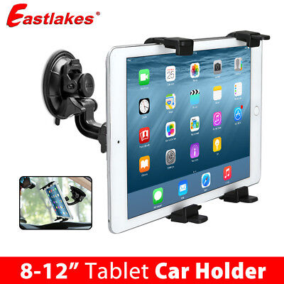 AU14.95 • Buy Car Mount Windscreen Suction Holder For IPad Mini Samsung Android Tablet 8-12