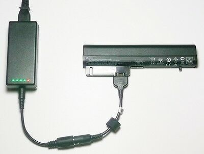 External Laptop Battery Charger For HP EliteBook 2510p 2530p 2540p, 463308 MS06 • 52.98£
