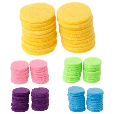 AU3.97 • Buy 20Pcs 30mm Round Refill Pads For Car Aromatherapy Essential Oil Locket Diffuser