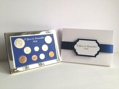 60th 65th 70th 75th 80th Birthday Coin Year Gift Set; FROM £29.95 - Gift Boxed • 36.95£