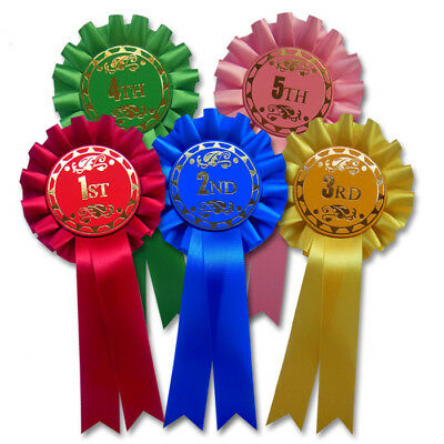 £3.85 • Buy 1st-5th Award Rosettes Dog Show Rosettes/Horse Rosettes 1st, 2nd, 3rd, 4th, 5th