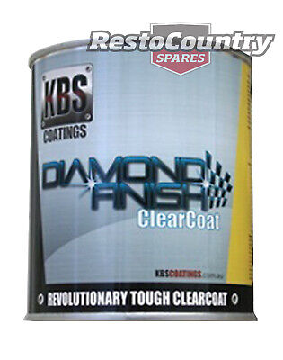 AU298 • Buy KBS Coatings Diamond Finish Clear Coat 4 Litre Car Boat Bike Paint Protect Four