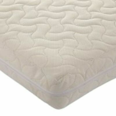 Zip-up Mattress Cover Washable Replacement Protector Reusable Cot Toddler Baby • 24£