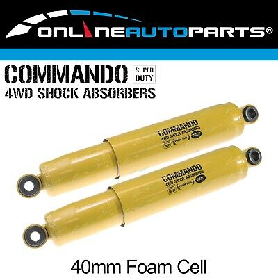 AU148.13 • Buy 2 Rear Foam Cell Shock Absorbers Suits Mitsubishi Triton ML MN Ute 2x4 4x4 06~16
