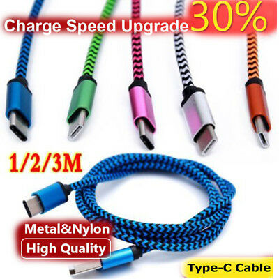 $ CDN2.99 • Buy 1-3M USB-C Type-C 3.1 Fast Charging Data Charger Cable For Samsung Galaxy S8/S8+