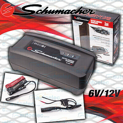 AU49 • Buy Schumacher 2A AMP 6 & 12V Volt Smart Battery Maintainer Charger AGM Deep Cycle