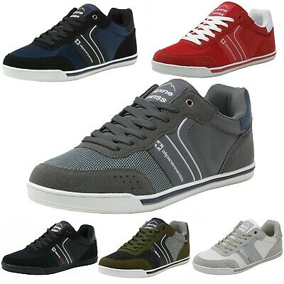 $29.99 • Buy Alpine Swiss Liam Mens Fashion Sneakers Suede Trim Low Top Lace Up Tennis Shoes
