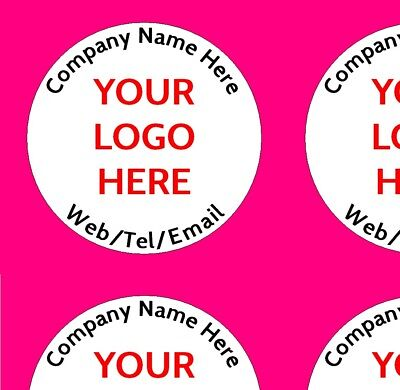 £2.59 • Buy Personalised Business Name Stickers Thank You Seals Your Logo Labels Address 105