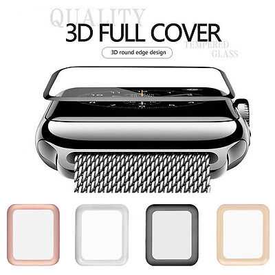 $ CDN3.27 • Buy For Apple Watch Series 3/2 Full Covered Tempered Glass Screen Protector 38/42mm
