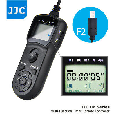 AU36.99 • Buy LCD Timer Remote Control For Sony A6600 A6100 A6500 A6400 A6300 A6000 As RM-SPR1