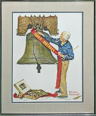 $ CDN1866.76 • Buy Norman Rockwell  Celebration 1976  | Rare Signed Print | Make An Offer | Gallart