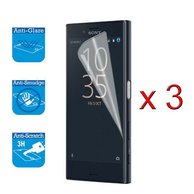 AU7.11 • Buy For Sony Xperia XZ1 Compact Screen Protector Cover Guard LCD Film Foil X 3