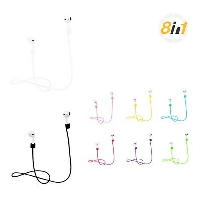 $ CDN10.56 • Buy Apple AirPods Strap, Soft Silicone Earphones Anti-lost Strap, Wire Connector