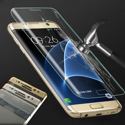 $ CDN3.17 • Buy Full Coverage Tempered Glass Screen Protector For Samsung Galaxy S7 EDGE