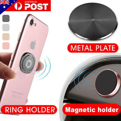 AU8.75 • Buy Metal Phone Smart Ring Holder Grip Socket Stand Dock Magnetic Mount Pop Bracket