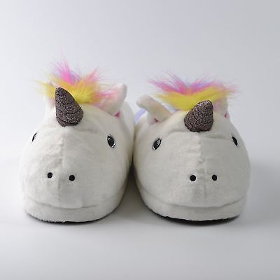 AU30.41 • Buy Unicorn Slippers - Fit Up To Size 7