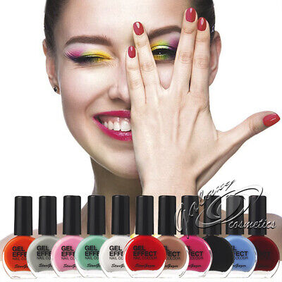 Stargazer GEL EFFECT Nail Polish Extra Glossy Gel Like Varnish NO UV/LED Lamp • 3.85£