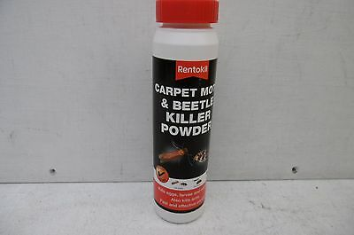 Rentokil Carpet Moth & Beetle Killer Powder 150 Gram • 7.65£