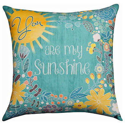 Pillows -  You Are My Sunshine  Indoor Outdoor Pillow - 18  Square • 22.19£
