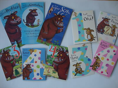 £3.10 • Buy The Gruffalo Birthday Card Age 1 2 3 4 Son Brother Sister Granddaughter Daughter