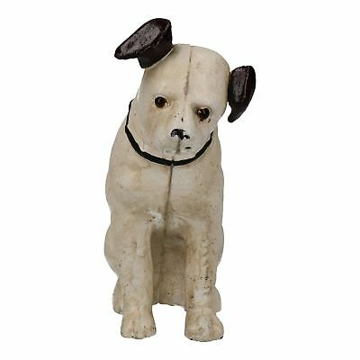 HMV Nipper Dog Music Figurine Cast Iron Money Bank Box Change Jar • 13.49£