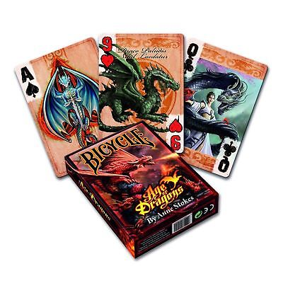 £5.49 • Buy Bicycle Anne Stokes Age Of Dragon Playing Cards Poker Deck