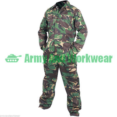 Camo Boilersuit Army Coveralls Overalls Workwear Boiler Suit Military DPM Mens • 19.95£