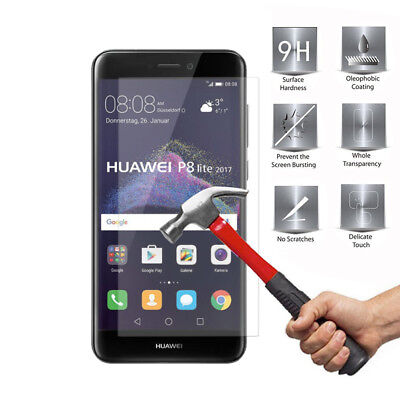 £2.27 • Buy Anti-Scratch Tempered Glasses Screen Protector 2.5 Ultra For Huawei P8 Lite 2017