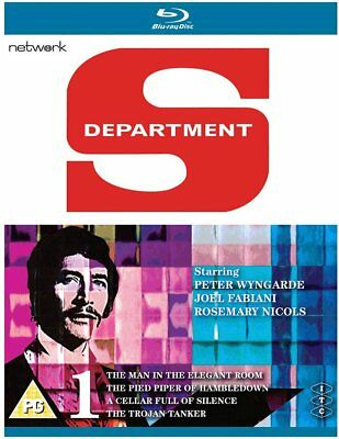 ITC Department S, Jason King, Wyngarde Vol 1 BluRay - BRAND NEW Shrink-wrapped • 14.99£