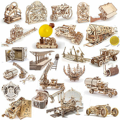 UGEARS Mechanical Wooden Model Kits - Choose From The Drop Down Menu • 31.95£