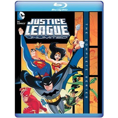 AU66.95 • Buy Justice League Unlimited The Complete Series Blu-ray Region B (3 Discs)