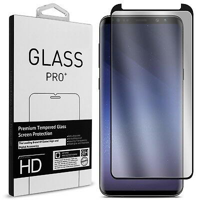 $ CDN3.27 • Buy For Samsung Galaxy S9 Plus S8 S7 Edge Tempered Glass Full Cover Screen Protector