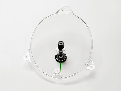 $64.95 • Buy 1969 1970 Ford Mustang Clock Lens (Deluxe, W/ Pointer)