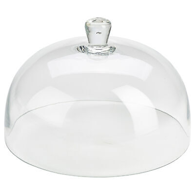 £27.65 • Buy Glass Cake Dome 30cm - 12 Inch Glass Cloche With Handle