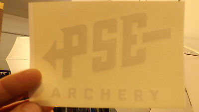 $24.99 • Buy 16 Pc PSE 5  X 4  Archery Inside Window Decals Stickers Old Logo Lot
