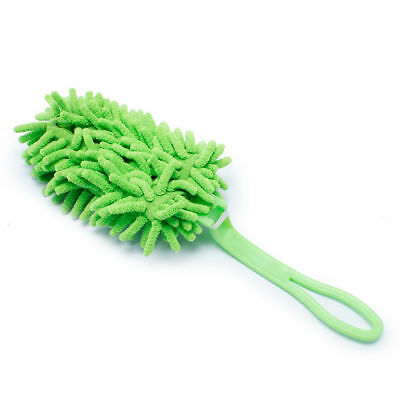 Handheld Microfibre Noodle Sweeper Duster Tile Floor Cleaning Removeable Head • 2.59£