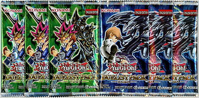 YuGiOh! Duelist Pack Yugi And Kaiba UNL Edition New And Sealed Booster Packs X3 • 27.39£