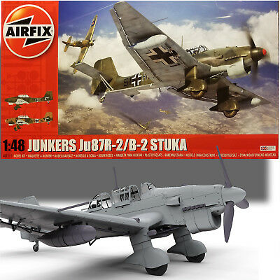 $52.99 • Buy AIRFIX 1/48 JUNKERS Ju87R-2/B-2 STUKA MODEL KIT A07115