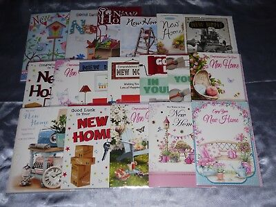 New Home Card Good Luck Congratulations On Moving Home Card New House 30+ Choice • 2.09£