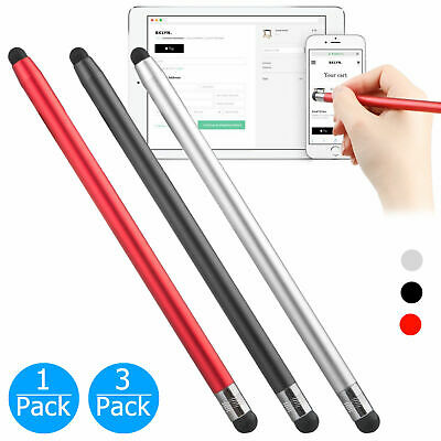 $9.17 • Buy 2 In 1 Universal Stylus Touch Screen Pen For IPhone IPad Samsung Tablet Phone PC