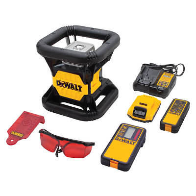 $1249 • Buy DeWALT DW079LRT 20-Volt 2000-Foot Red Beam Rotary Tough Laser Level Kit