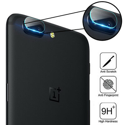 AU8.29 • Buy For OnePlus 5 5T Tempered Glass Back Rear Camera Lens 9H Protector Film Cover