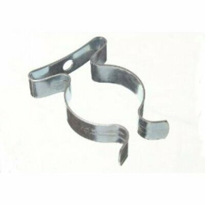 Pack Of 4 Tool Storage Spring Terry Clips 2  Inch Large 50mm BZP Shed Garage • 4.78£
